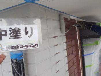徳島県 南沖洲町 外壁 塗装 2階