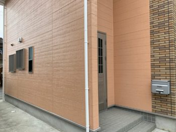 徳島県 名東町 施工後 外壁 超低汚染リファイン