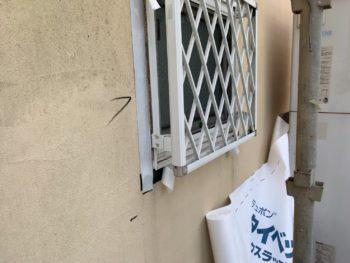 徳島県 松茂町 外壁 張り替え 施行前