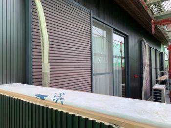 徳島 藍住 外壁 板金工事 ベランダ