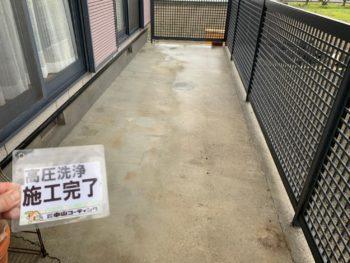 徳島 藍住 高圧洗浄 土間