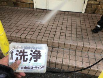 徳島県 板野郡 洗浄 玄関