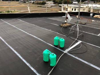 徳島県 阿南市 屋上防水 施工後 コーキング
