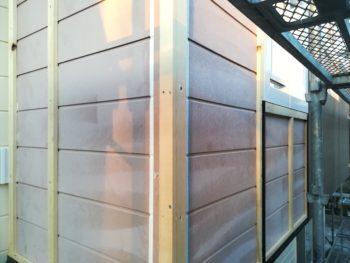 徳島県 板野町 大工工事 手すり壁 胴縁