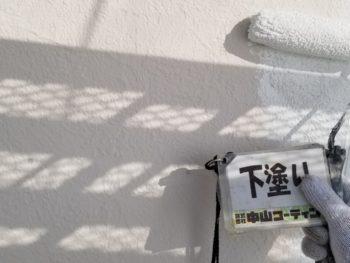 徳島県 川内町 外壁塗装 下塗り