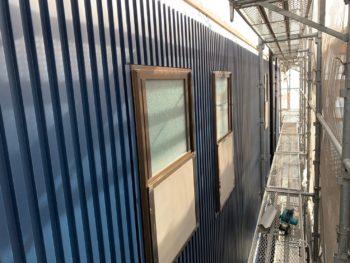 徳島県 末広町 外壁 板金工事 ガルバリウム鋼板