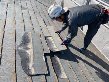 徳島県 川内町 屋根 板金工事 瓦 撤去