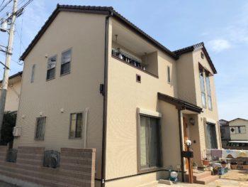 外壁屋根塗装 板野郡藍住町T様 中山コーティング施工例