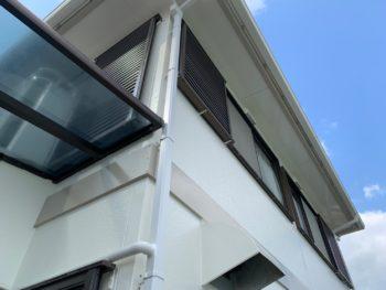 徳島県 藍住町 施工後 付帯部 軒天井