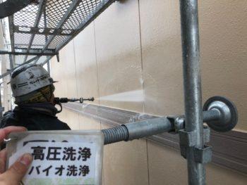 徳島県 北島町 高圧洗浄 外壁
