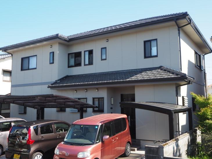 徳島県 北島町 施工後 正面 全体