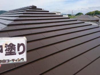 徳島県 中林町 屋根 塗装