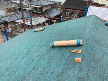 徳島県 名東町 屋根 板金工事 撤去