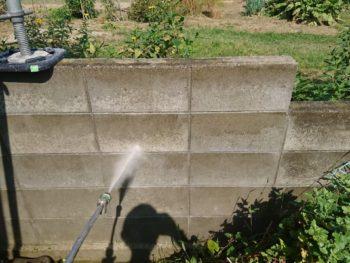 徳島 石井 洗浄 塀
