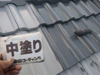 徳島県 北沖洲 屋根塗装