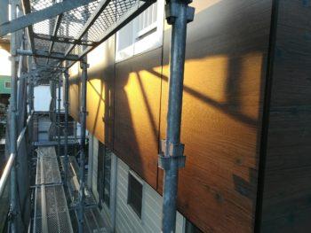 徳島県 板野町 大工工事 エバーアートボード 手すり壁