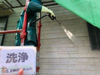 徳島 藍住 高圧洗浄 外壁 目地