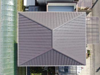 徳島県 藍住町 施工後 屋根