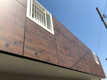 徳島県 板野町 施工後 手すり壁 エバーアートボード