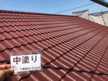 徳島県 松茂町 屋根 塗装後