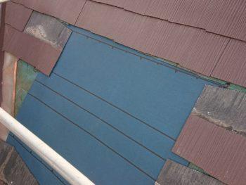 徳島県 板野町 大工工事 天窓 ルーフィング