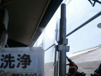 徳島県 南沖洲町 洗浄 雨樋