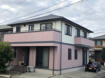 【大和ハウスの塗装工事】施工例 徳島市八万町T様