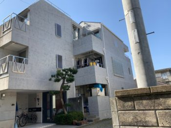 徳島県 外壁コンクリート打ちっ放し再現工法 南佐古