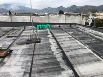 徳島県 阿南市 屋上防水 施工前