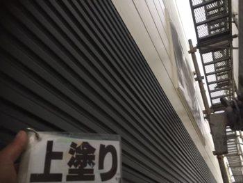 徳島県 阿南市 長生町 外壁塗装後 1階 上塗り
