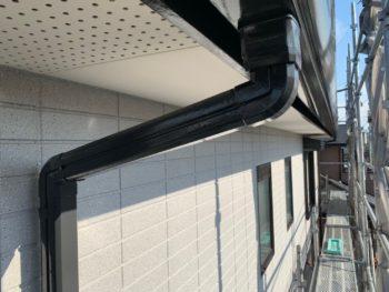 徳島県 南沖洲町 施工後 付帯部 軒天井