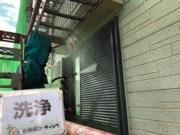 徳島 藍住 高圧洗浄 雨戸 戸袋