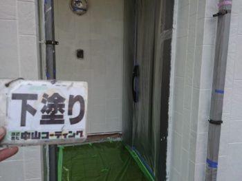 徳島県 中林町 外壁 塗装 下塗り後