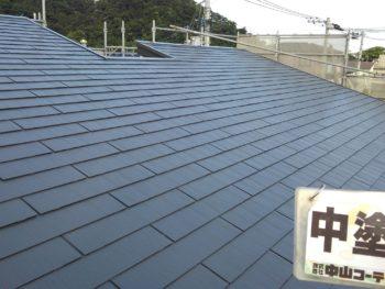 徳島県 新浜本町 屋根塗装後