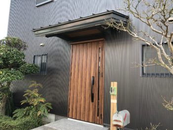 徳島 藍住 施工後 玄関
