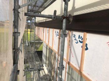 徳島県 上板町 板金工事 帯 ガルバリウム鋼板