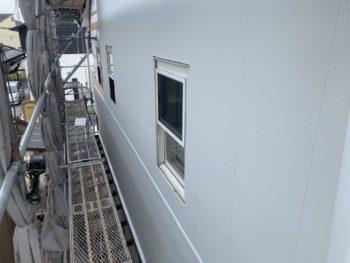 徳島県 松茂町 外壁 張り替え 施工後