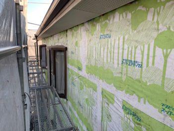 徳島県 末広町 外壁 板金工事 撤去