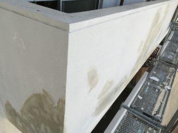 徳島県 南昭和町 下地処理 左官工事 手すり壁