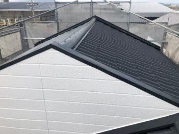 徳島県 北沖洲 施工後 屋根 ファインパーフェクトベスト