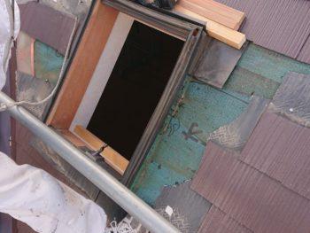 徳島県 板野町 大工工事 天窓 施工前
