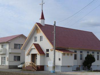 徳島県阿南市七見町中浜田ルーテル教会様 施工例