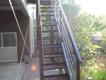 階段 徳島県 城南町 施工後