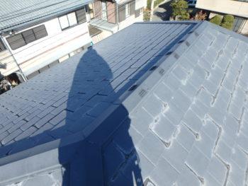 徳島県 南沖洲町 施工前 屋根 劣化