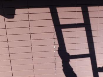 徳島県 南沖洲町 施工前 外壁 チョーキング