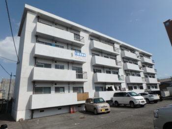 徳島県 南昭和町 施工前 マンション 正面 全体