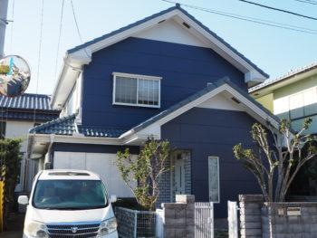 徳島市大原町 ALC外壁塗装 施工例 屋根塗装 O様