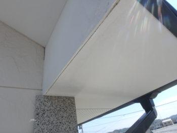 徳島県 小松島市 施工前 軒天井