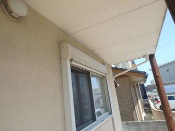 徳島県 松茂町 施工前 外壁 浮き