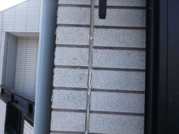 徳島県 北沖洲町 施工前 コーキング 劣化